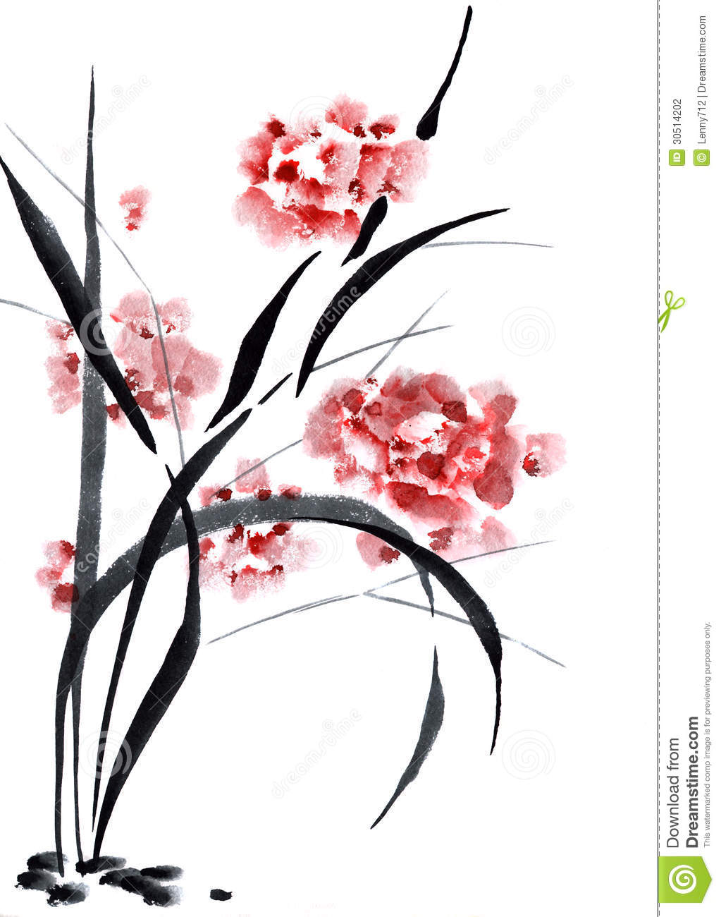 Pictures Of Chinese Flower Painting Made Easy Www Kidskunst Info