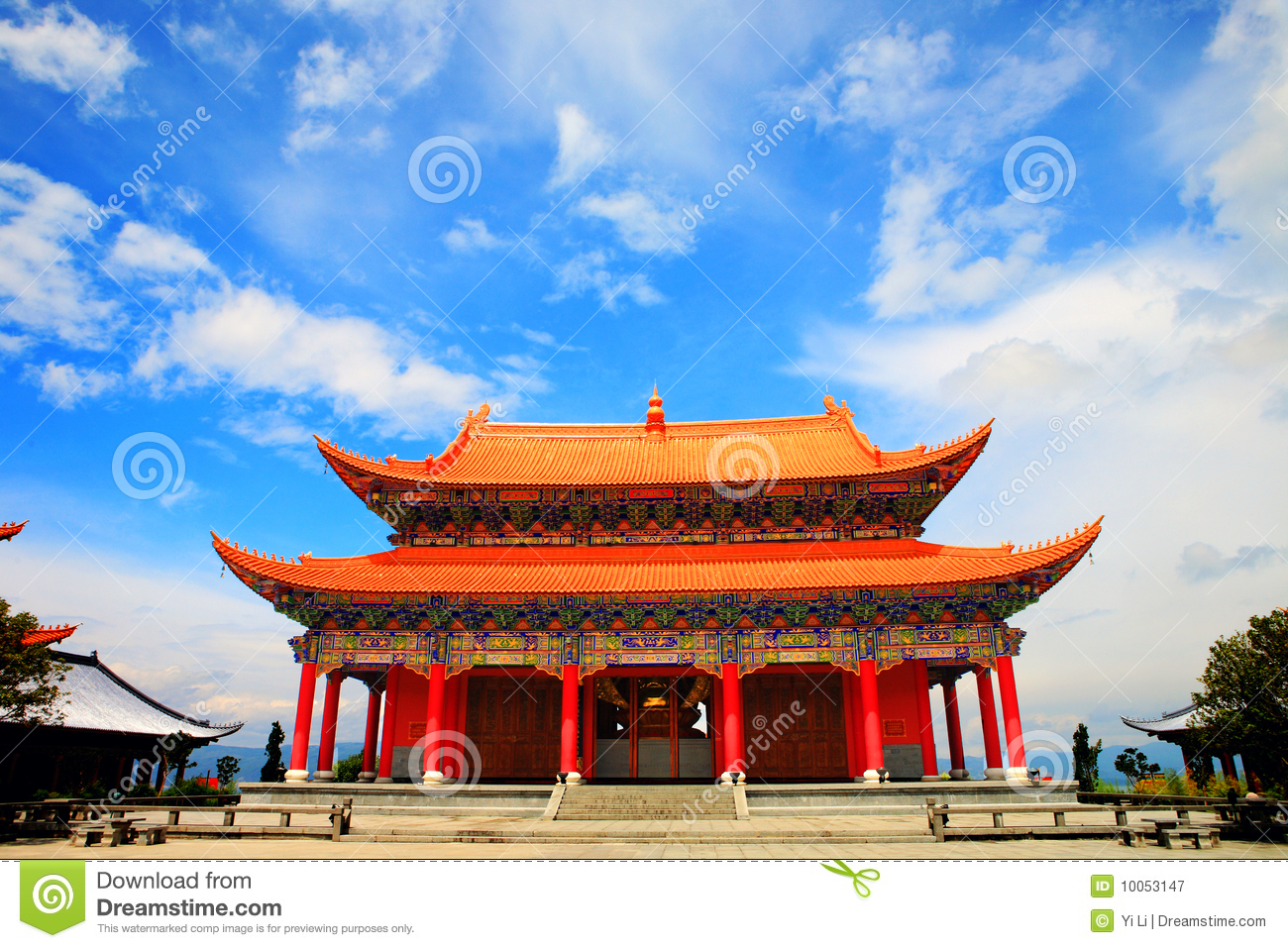 Chinese Palace Royalty Free Stock Photography Image