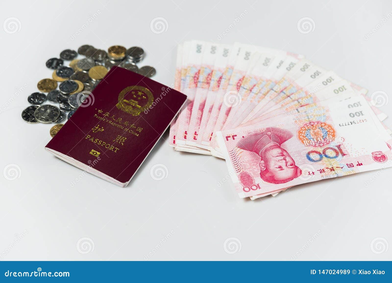 Chinese Passport and RMB