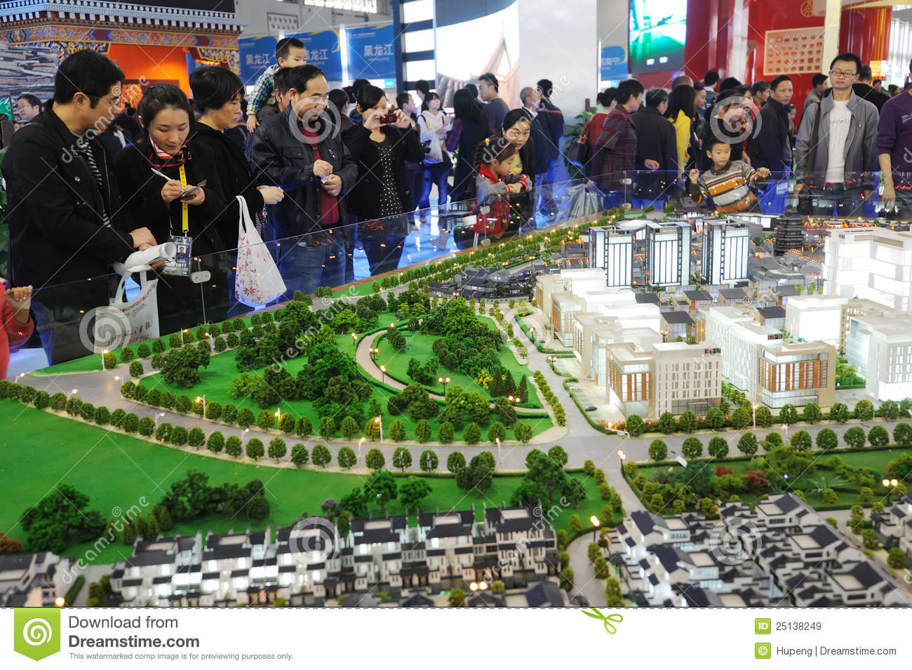 Chinese people buying house