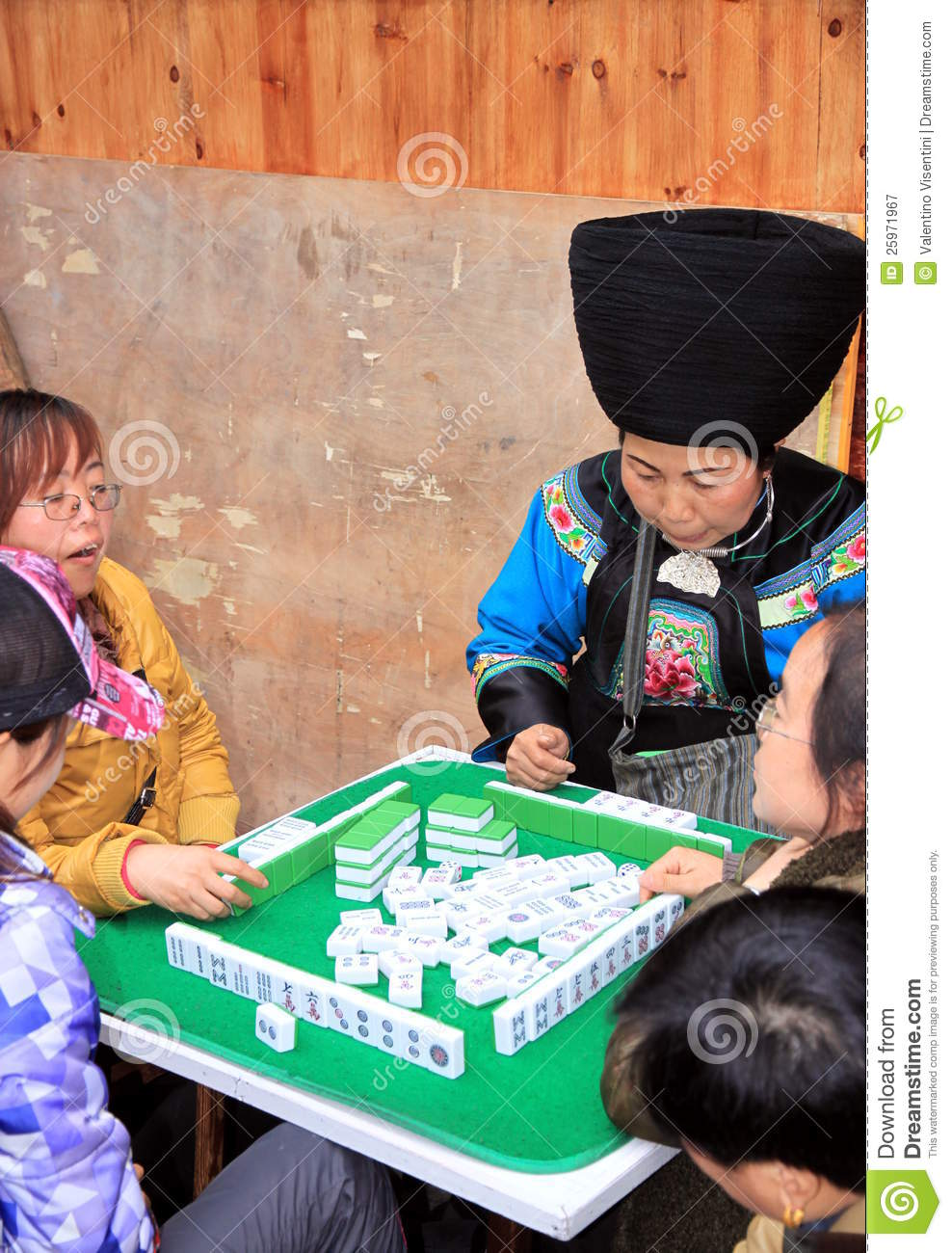 Chinese People Playing...