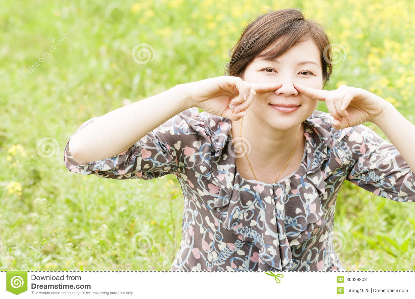 Chinese Happy Girl Stock Image Image Of Females Beautiful 30029803