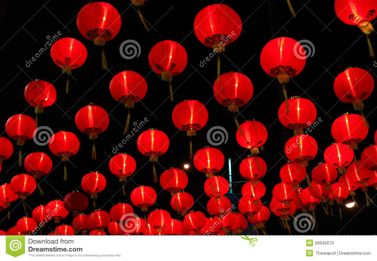 chinese red lamp - Red Lamp