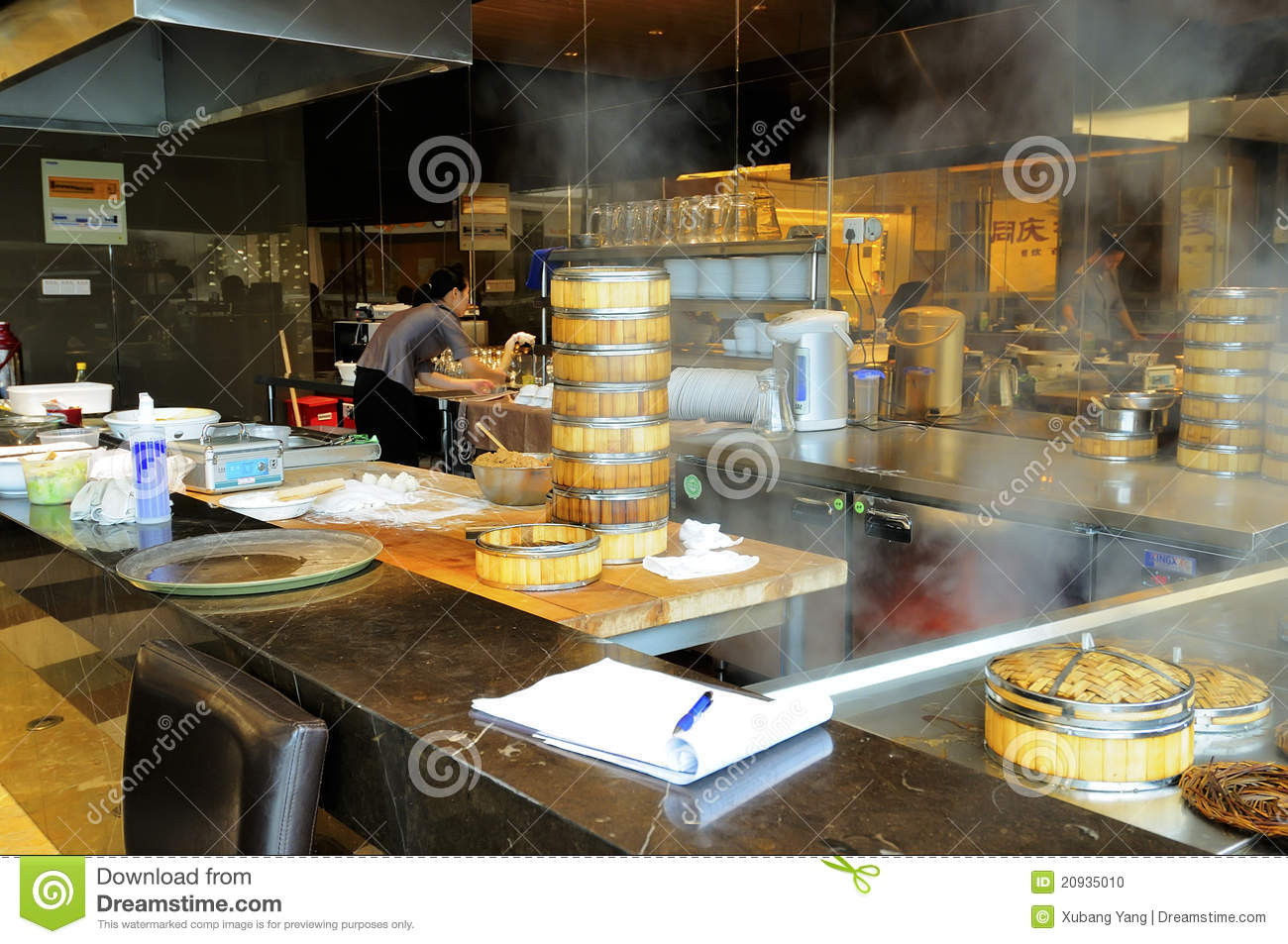 Chinese restaurant editorial image for Authentic chinese cuisine for the contemporary kitchen