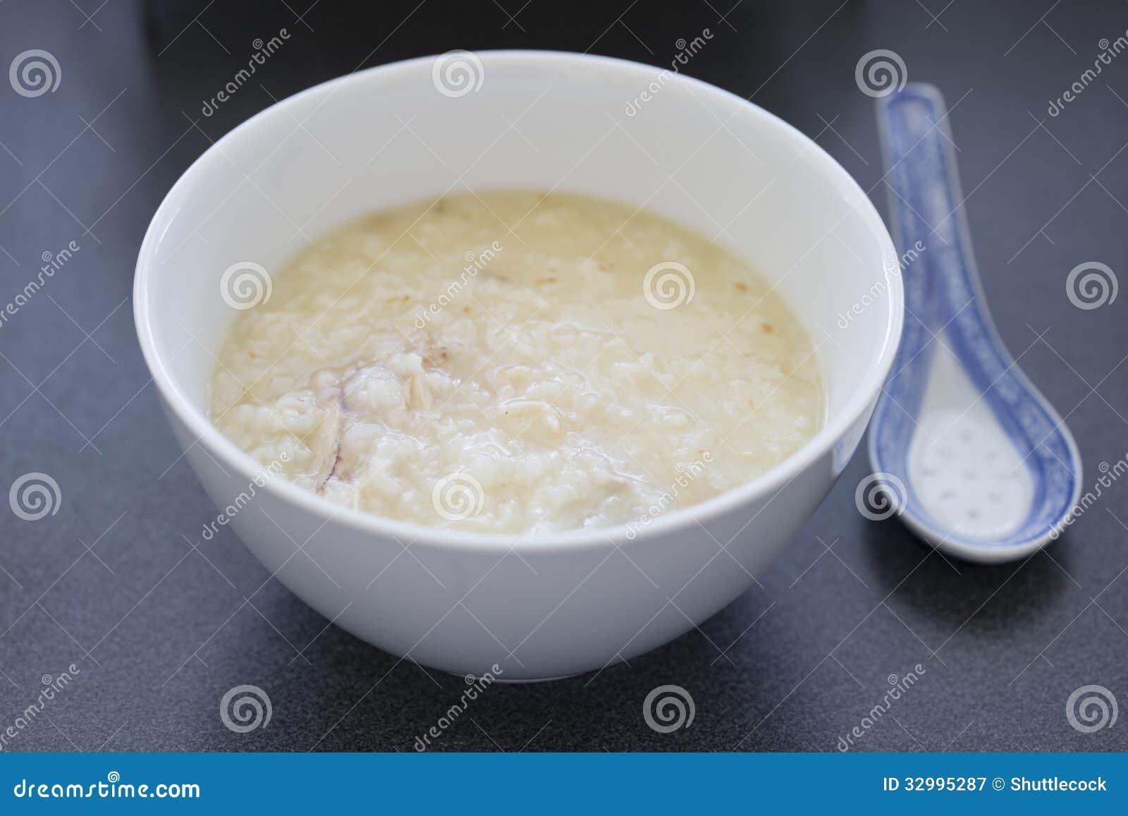 Chinese Rice Porridge Royalty Free Stock Photography