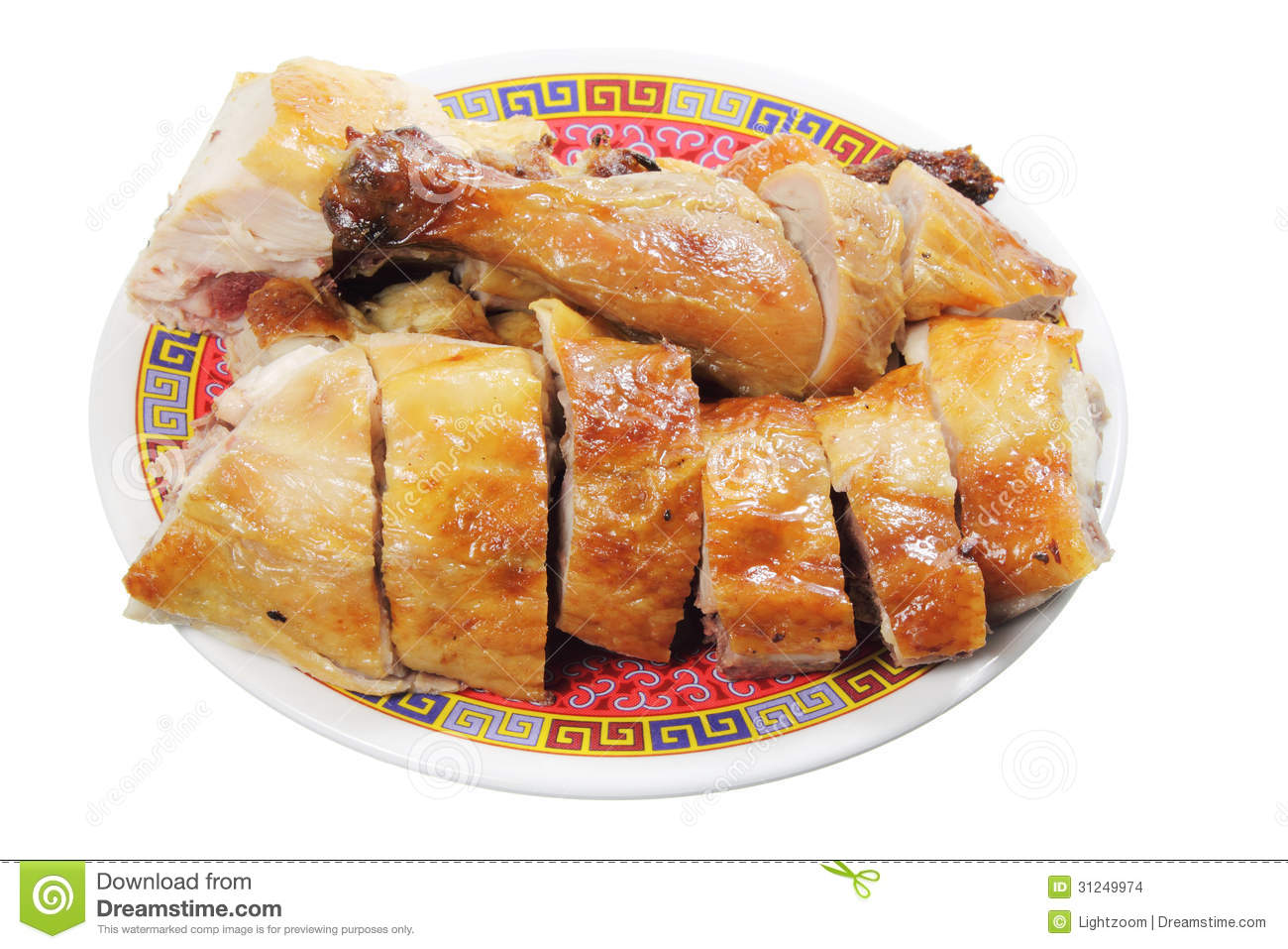 Chinese Roast Chicken Stock Images - Image: 31249974