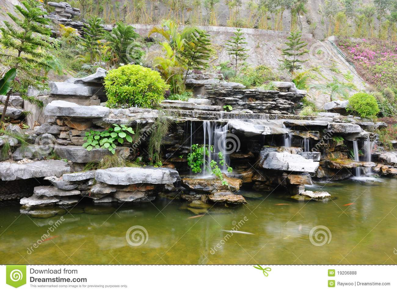 Chinese rockery garden stock photo image of culture for Jardin chinois 78