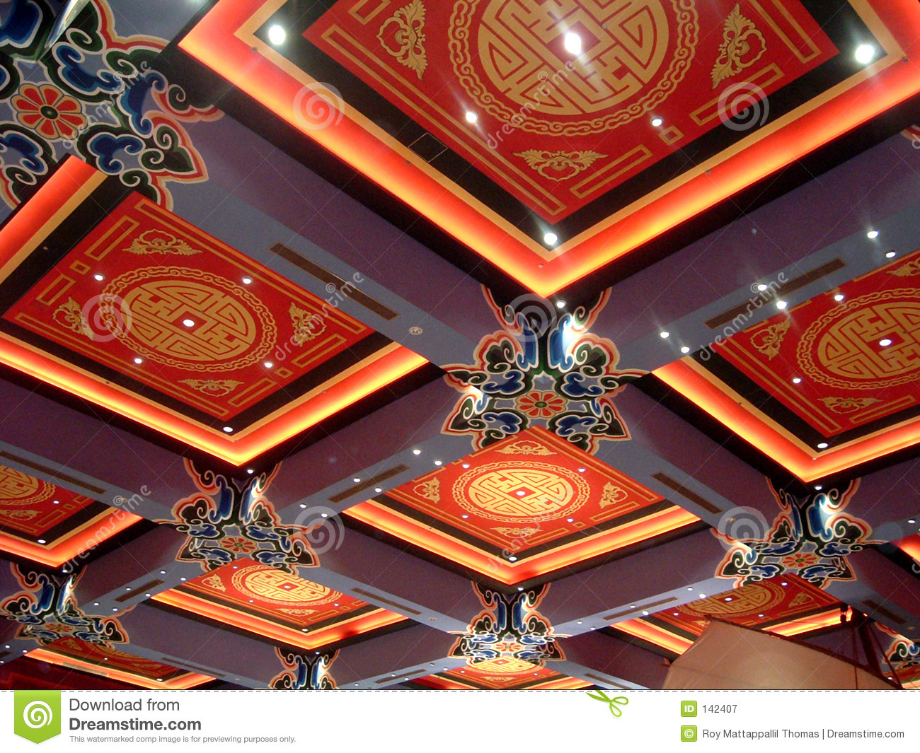chinese Roof design