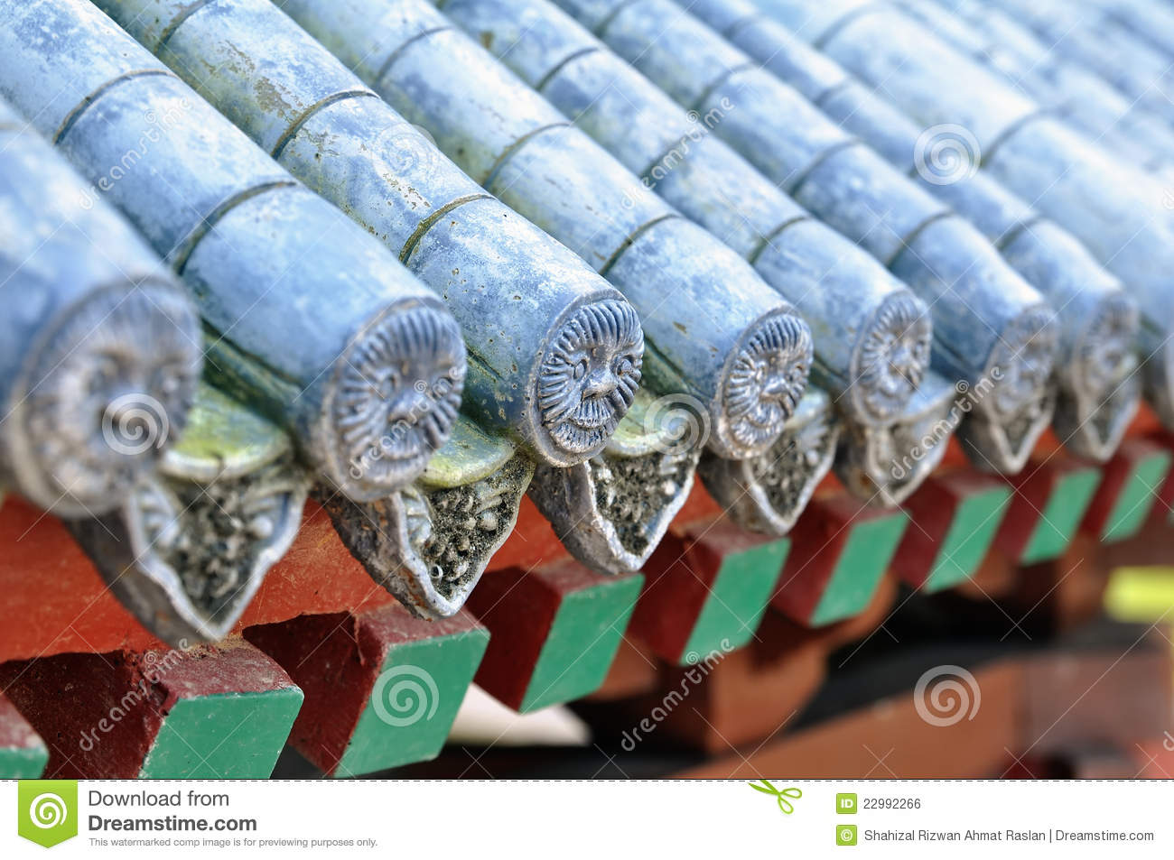 Chinese Roof Tiles Stock Photo Image Of Oriental Levels