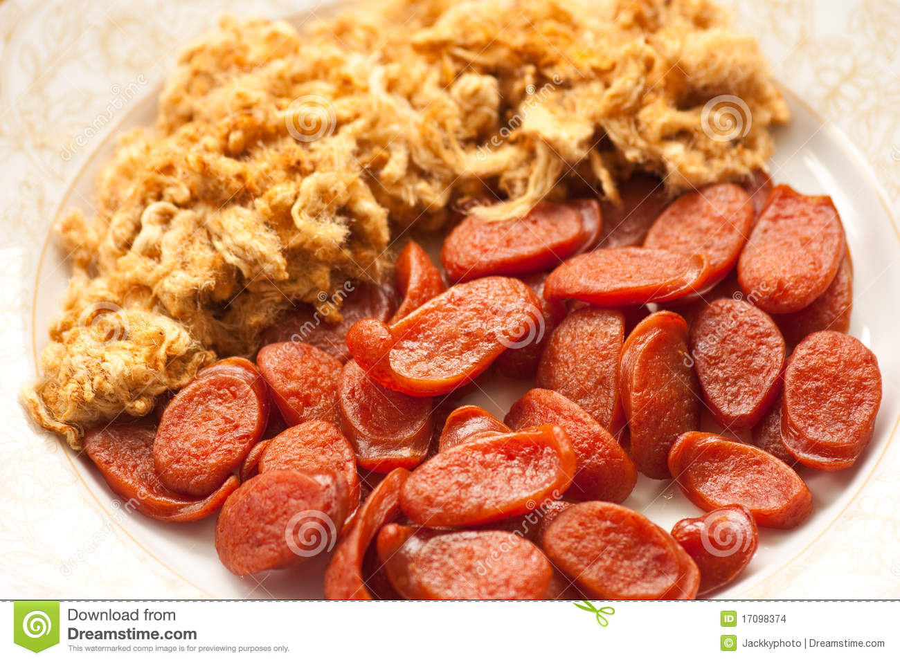 Chinese Sausage Stock Images - Image: 17098374