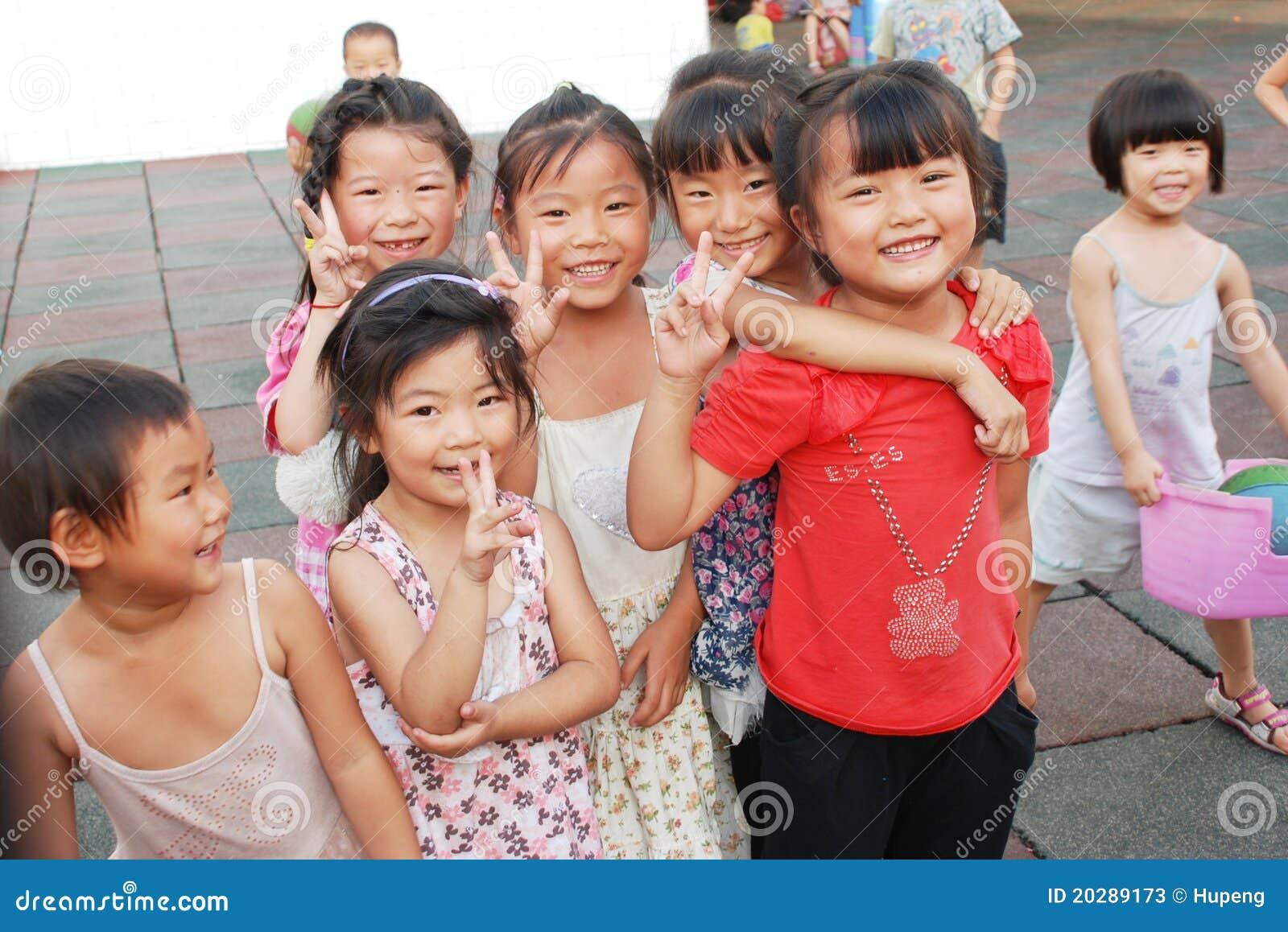 Chinese School Childre...