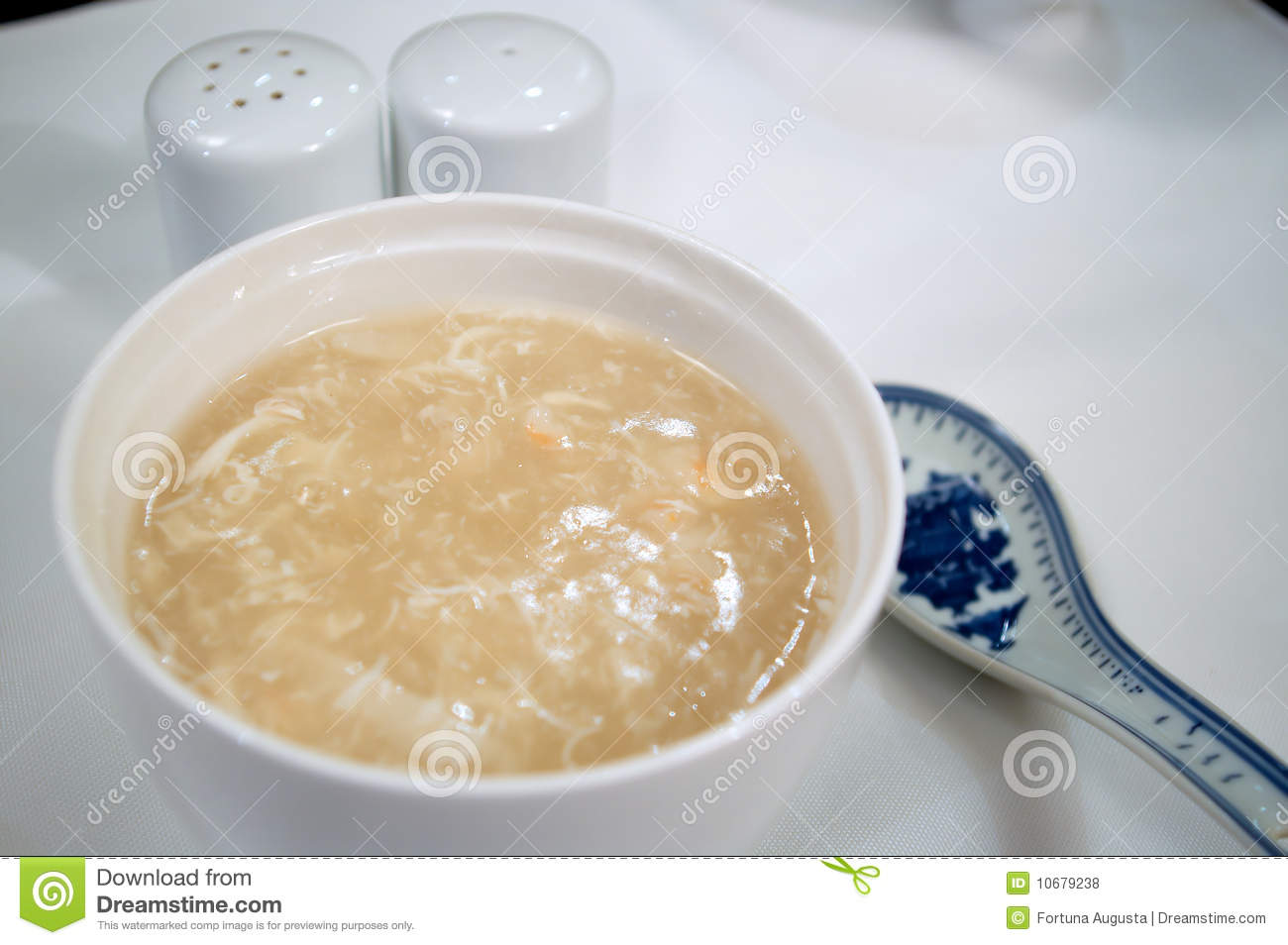 Chinese Sharks Fin Soup Stock Photo Image Of Appetizer 10679238