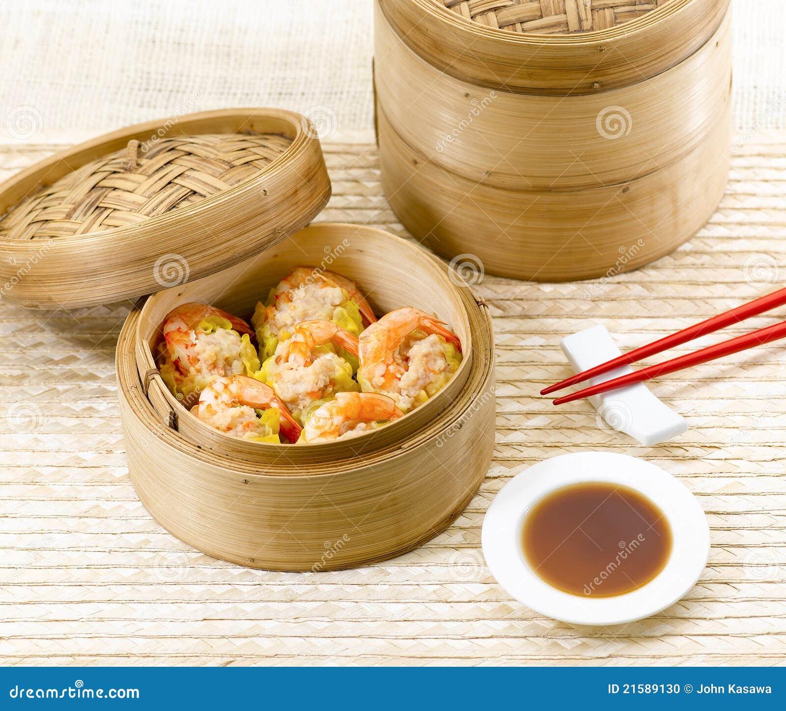 chinese shrimp dim sum food style stock photo image 21589130. Black Bedroom Furniture Sets. Home Design Ideas