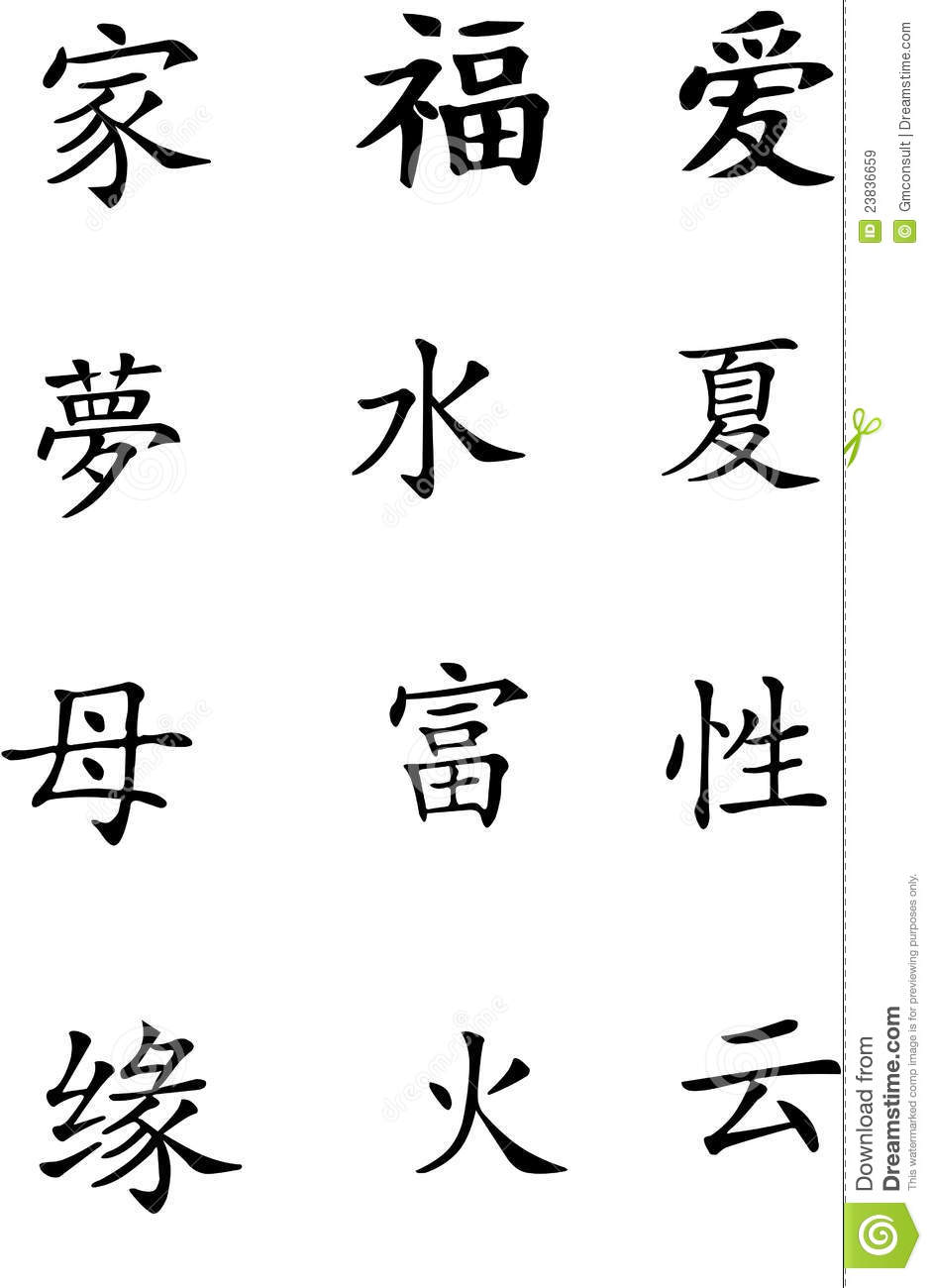 chinese signs c royalty free stock images image 23836659