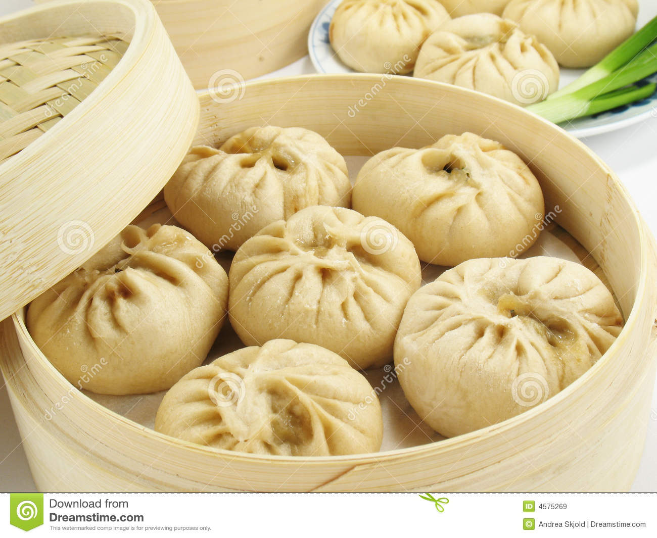 Chinese Steamed Buns Royalty Free Stock Images - Image: 4575269