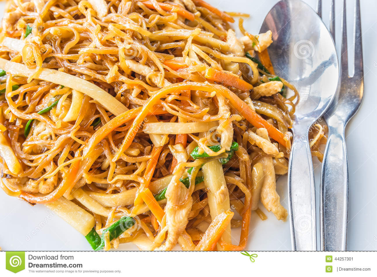 Chicken Chinese Fried Noodle