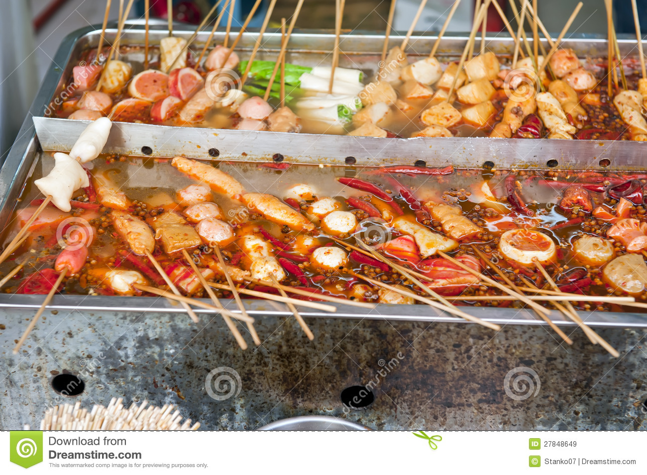 Chinese Street Food Royalty Free Stock Images - Image ...