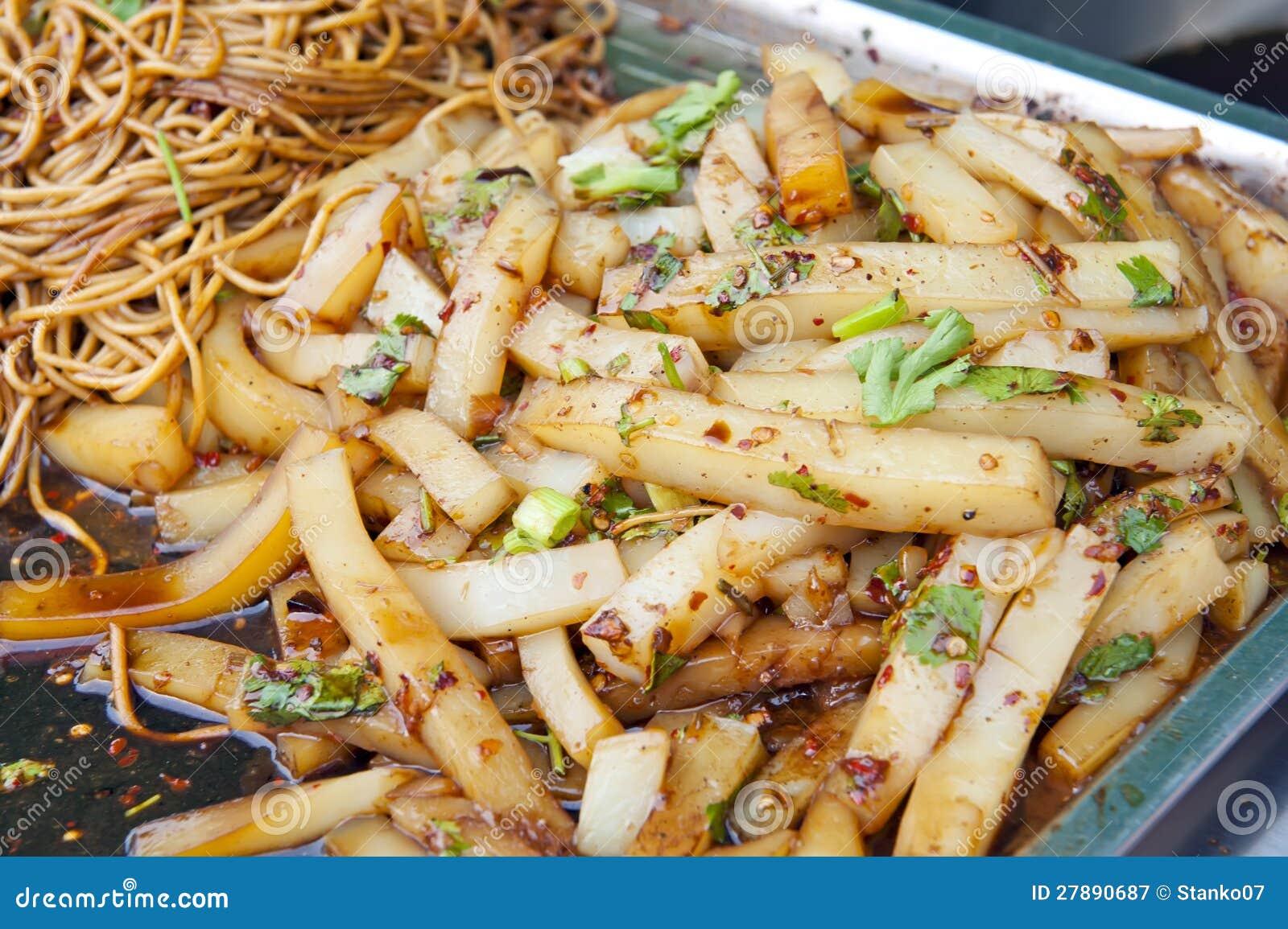 Chinese street food in shenyang china