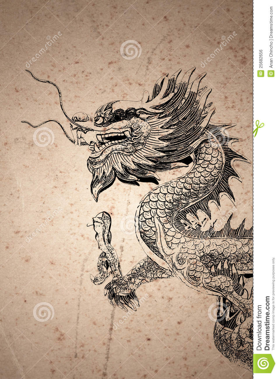 Dragon vector sign stock vector 313643336 shutterstock - Chinese Style Dragon Drawing Royalty Free Stock Image