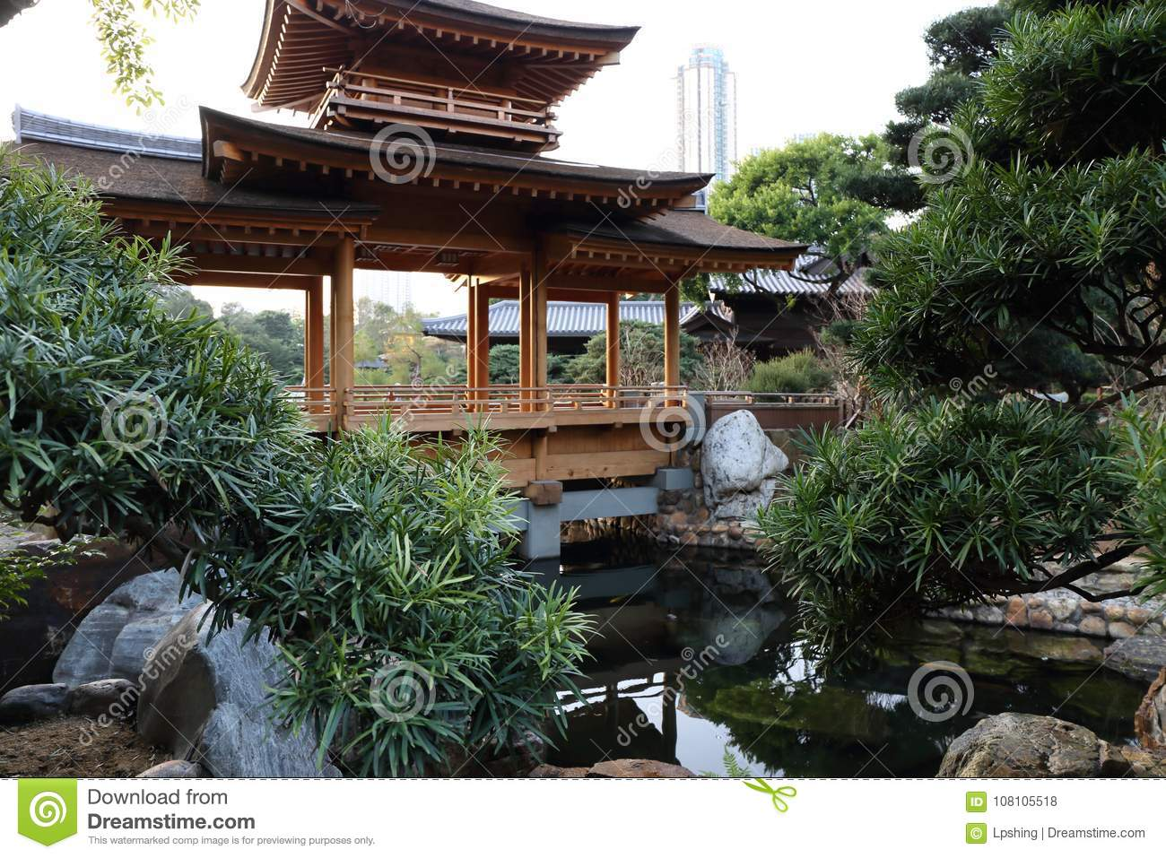 Download Chinese Style Garden Stock Photo. Image Of Europe, Photo    108105518