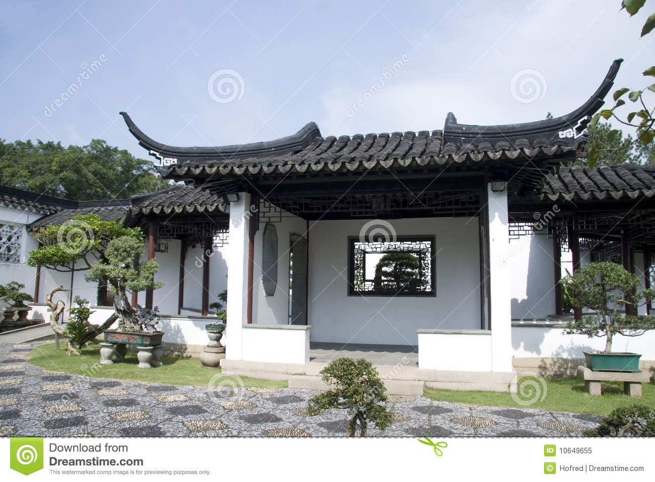Chinese Style House Stock Image Image Of Cultivated