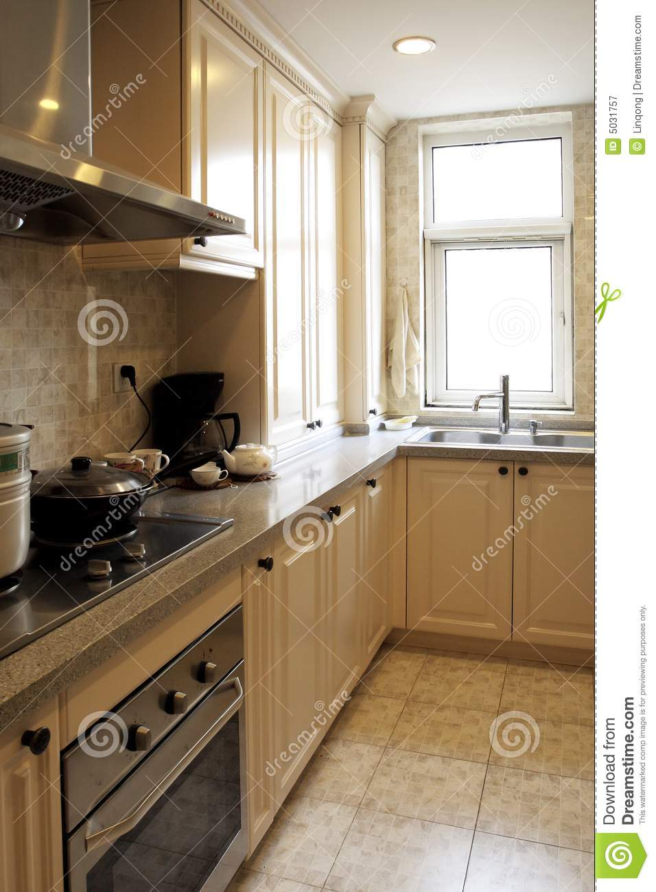 Chinese Style Kitchen Royalty Free Stock Photography