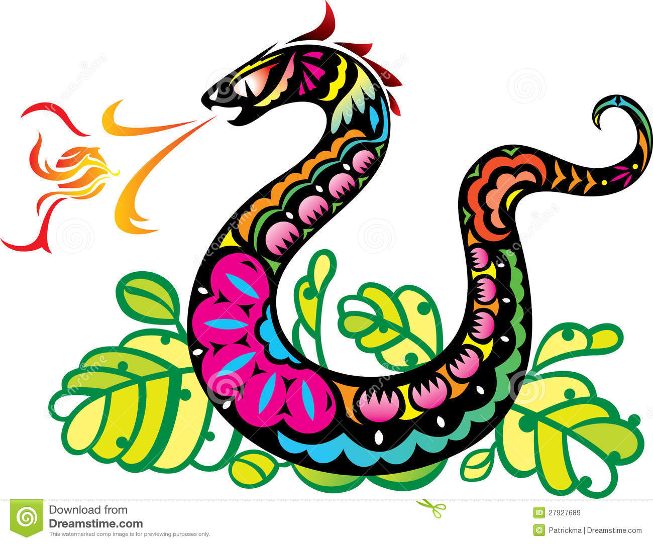 Royalty Free Stock Images Chinese Style Snake Breathing Fire Ball Art Image27927689 on cobra 19 xs