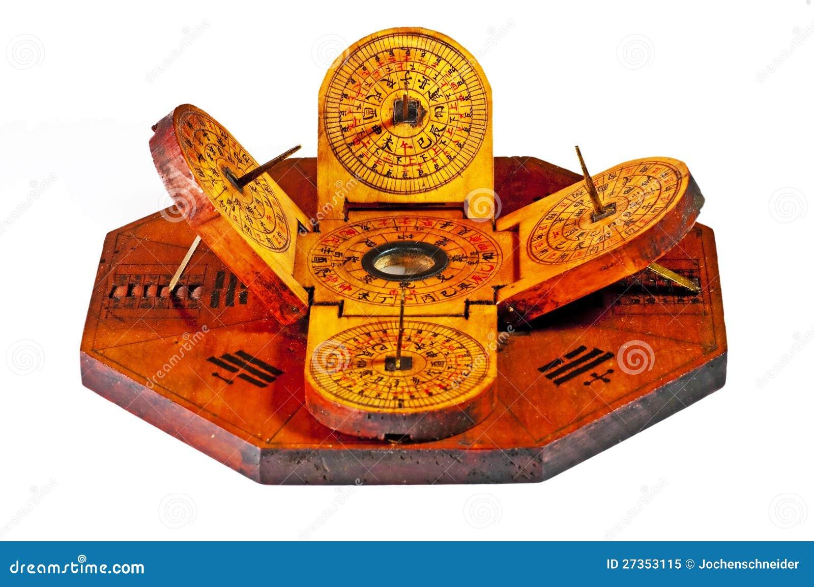 Chinese Sundial Royalty Free Stock Photo