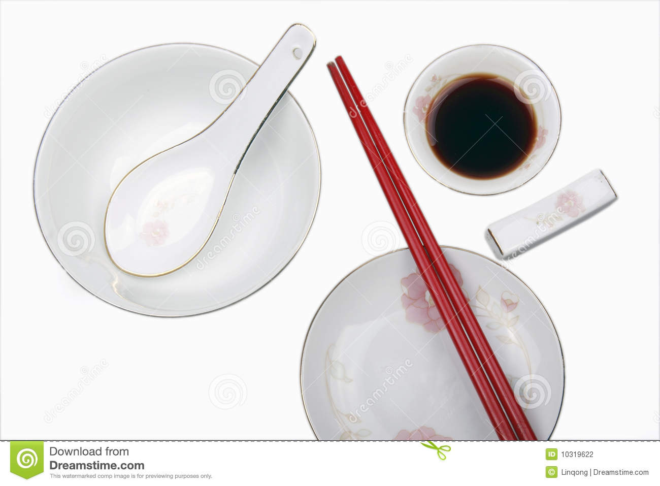Background Chinese Tableware ...