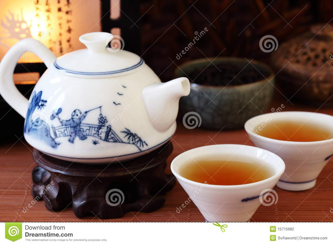 Chinese Tea Stock Photo Image Of Chinese Healthy Herb