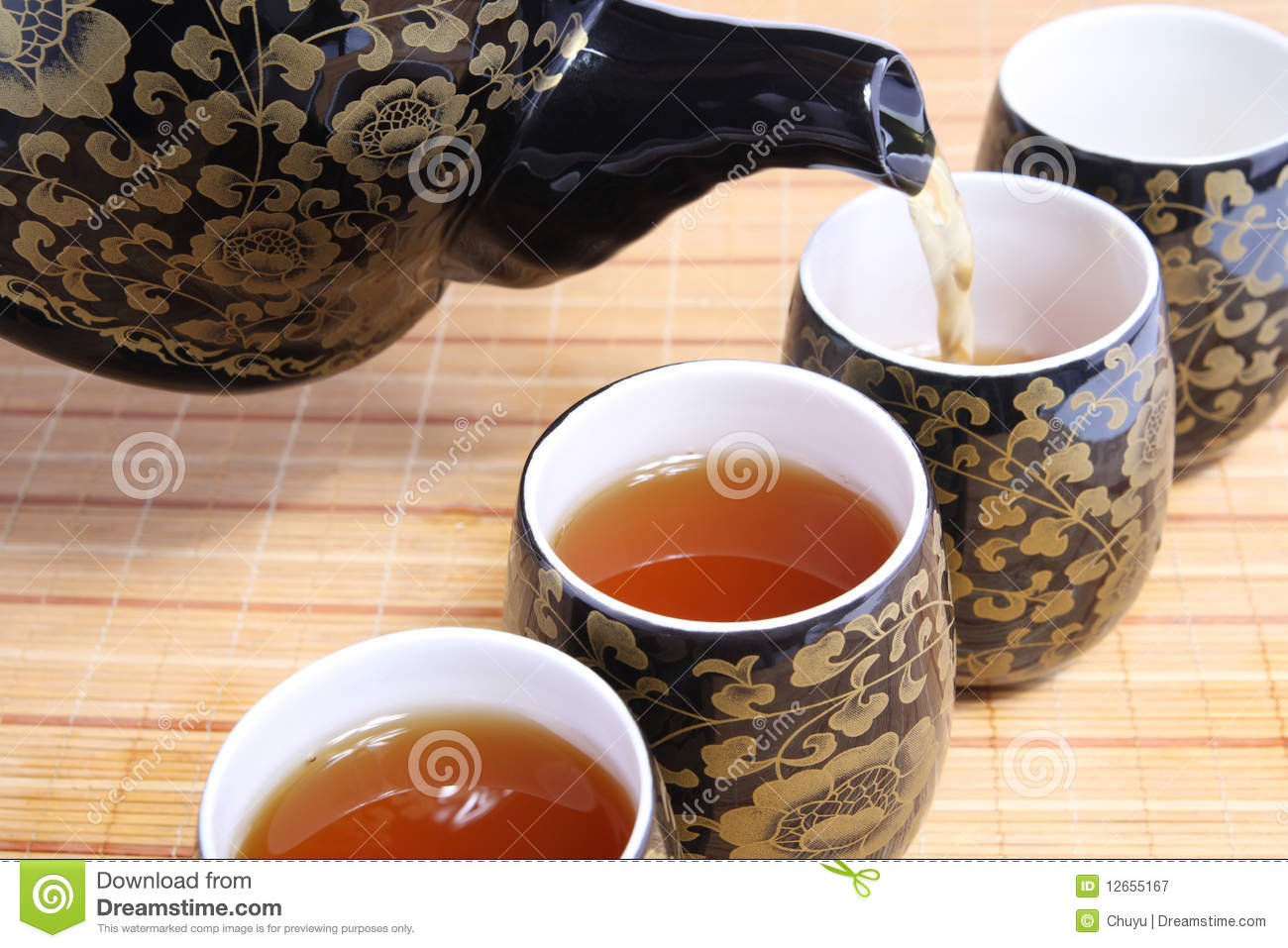 Chinese Tea Culture Royalty Free Stock Photography Image