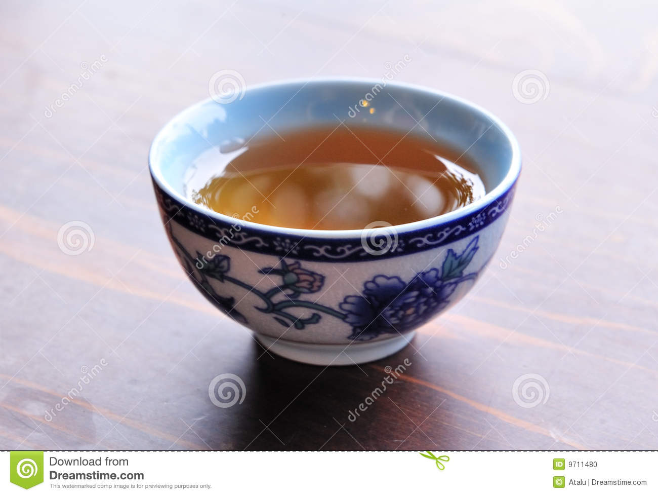 Chinese Tea Cup Stock Photo - Image: 9711480