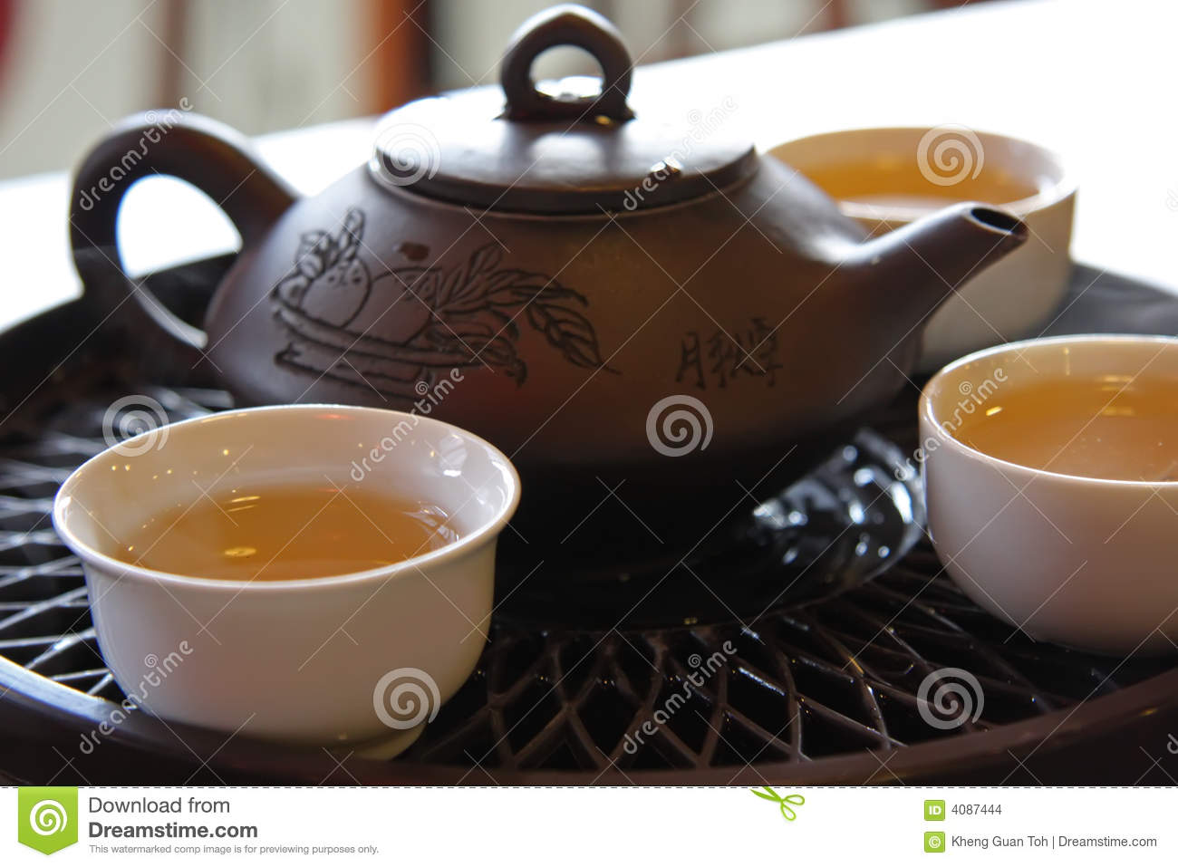 Chinese tea service