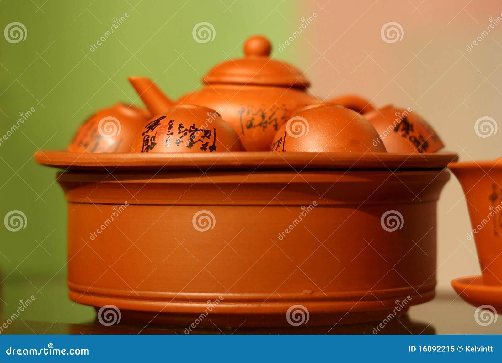 Chinese Tea Set Royalty Free Stock Photo Image 16092215