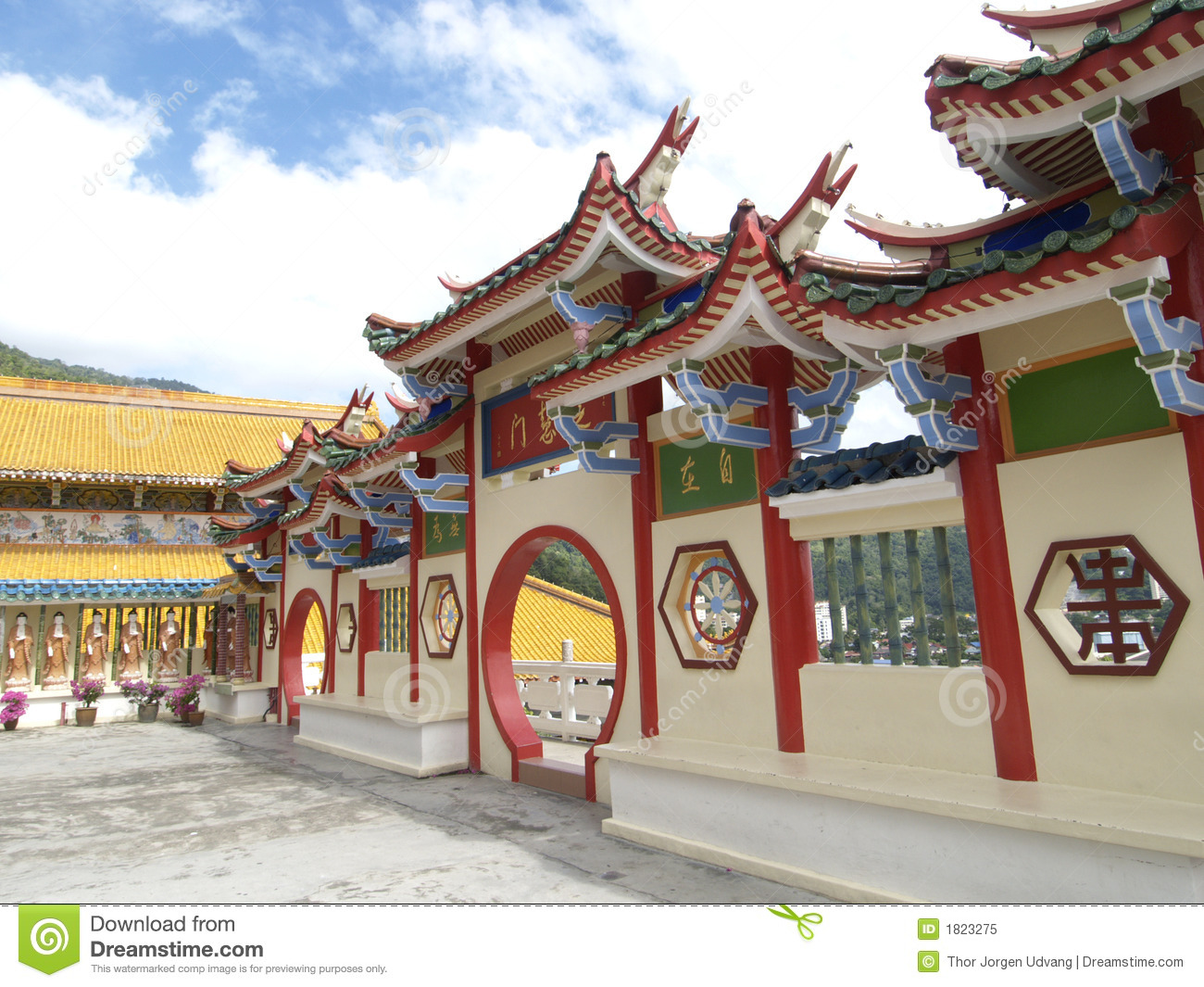 Chinese tempel in Maleisië