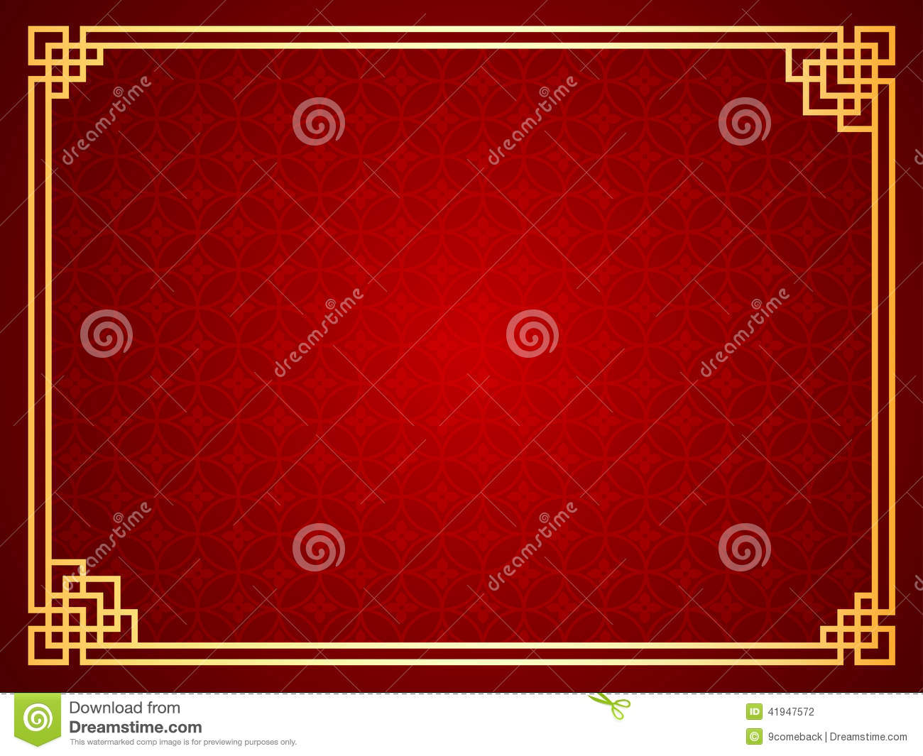 chinese template stock vector
