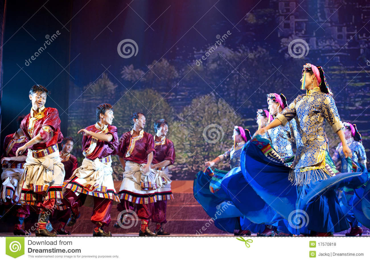 Chinese song and dance 3