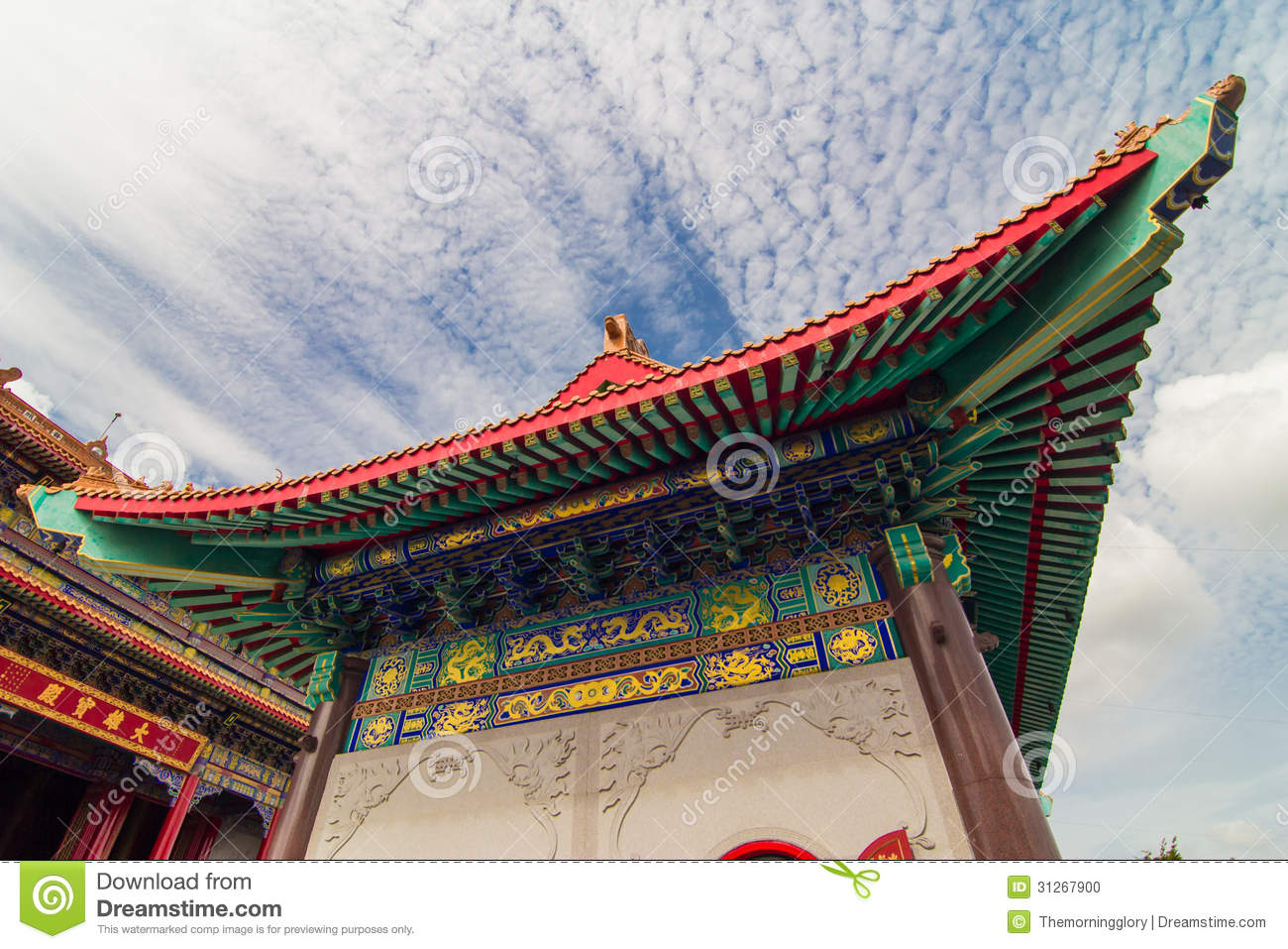 Traditional Construction chinese traditional construction roof stock photo - image: 31267900
