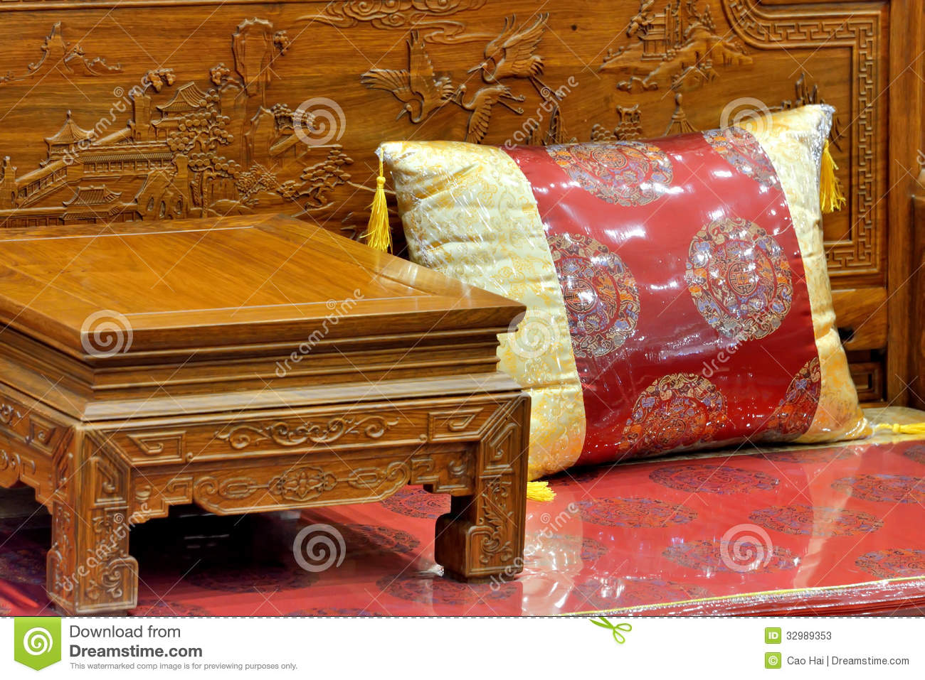 Chinese traditional furniture stock photos image 32989353 for Chinese furniture traditional