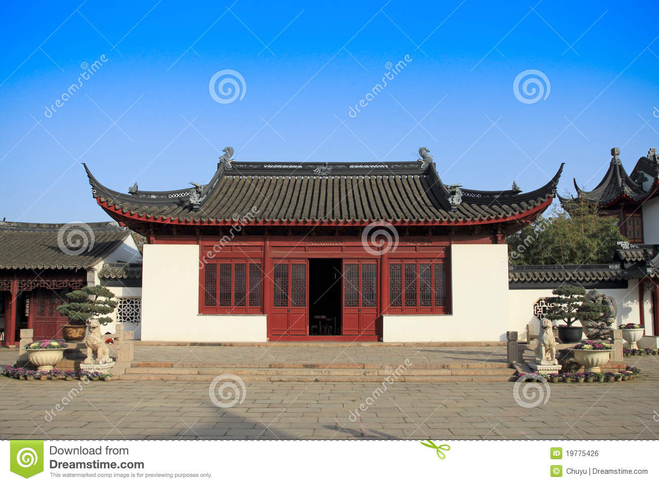 Chinese Traditional House Royalty Free Stock Image Image