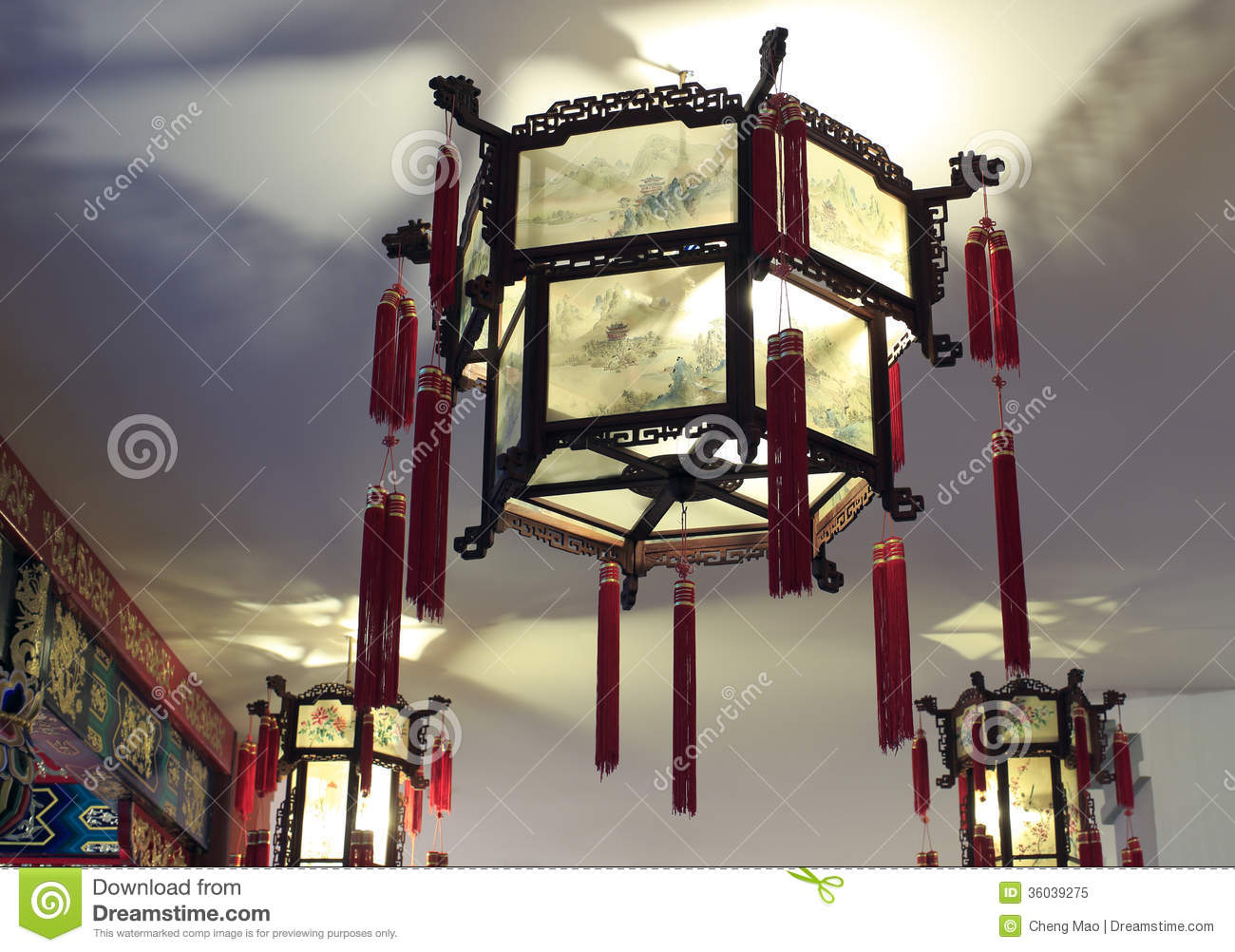 Chinese Traditional Chandelier Photo Image 26149010 – Chinese Lantern Chandelier