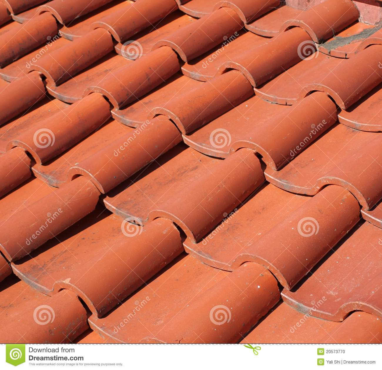 Chinese traditional roof tiles stock photo image 20573770 Fired tiles