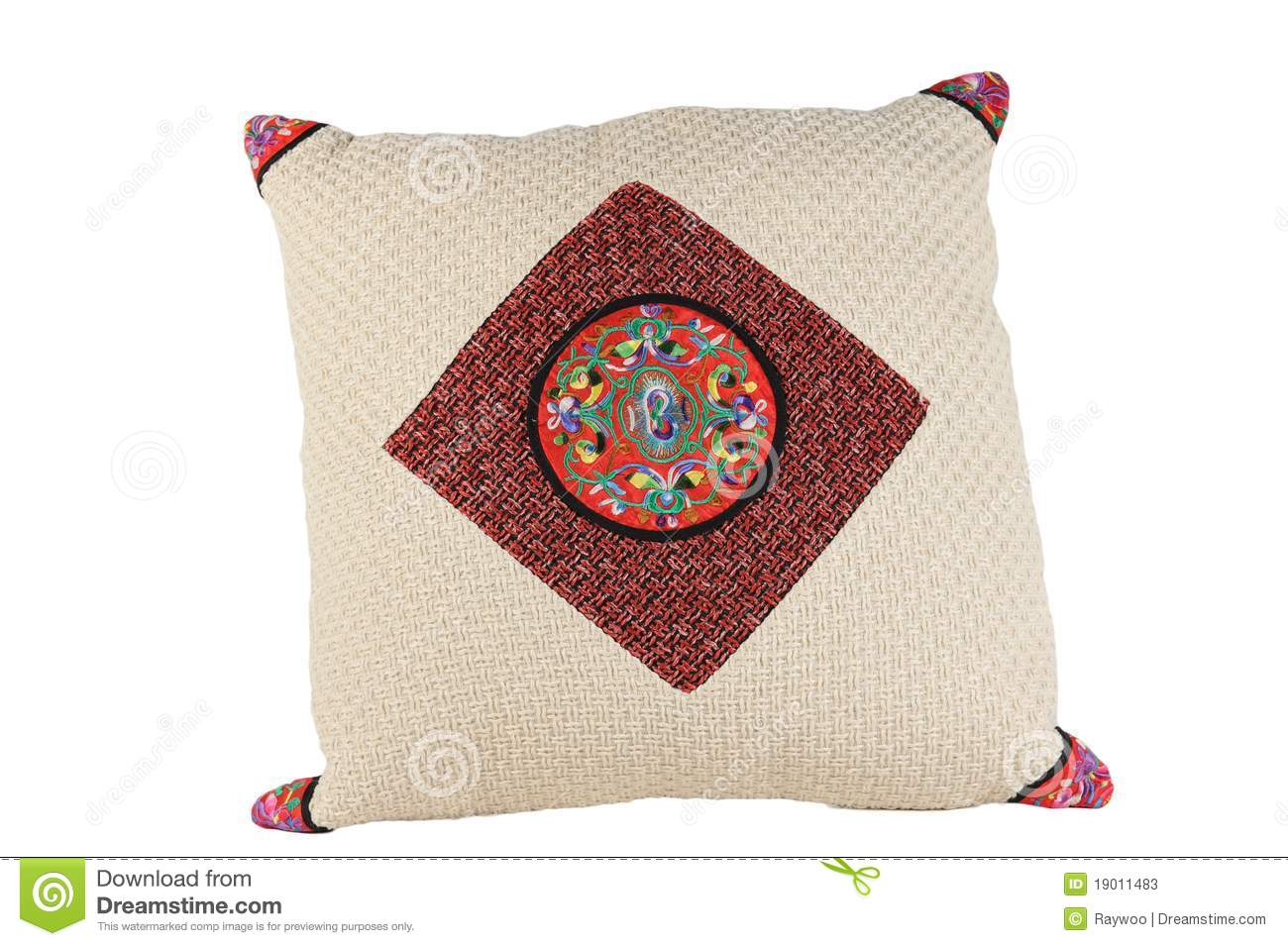 Chinese Traditional Style Pillow Stock Photos - Image: 19011483