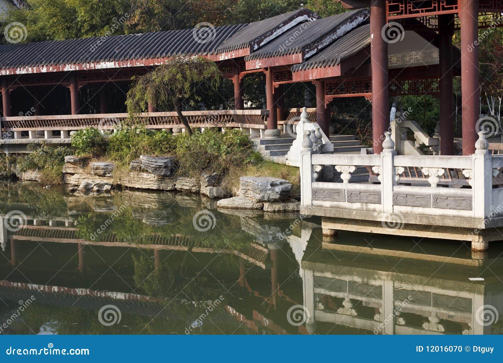 Chinese tuin stock foto afbeelding bestaande uit cultuur 12016070 - Tuin decoratie buitenkant ...
