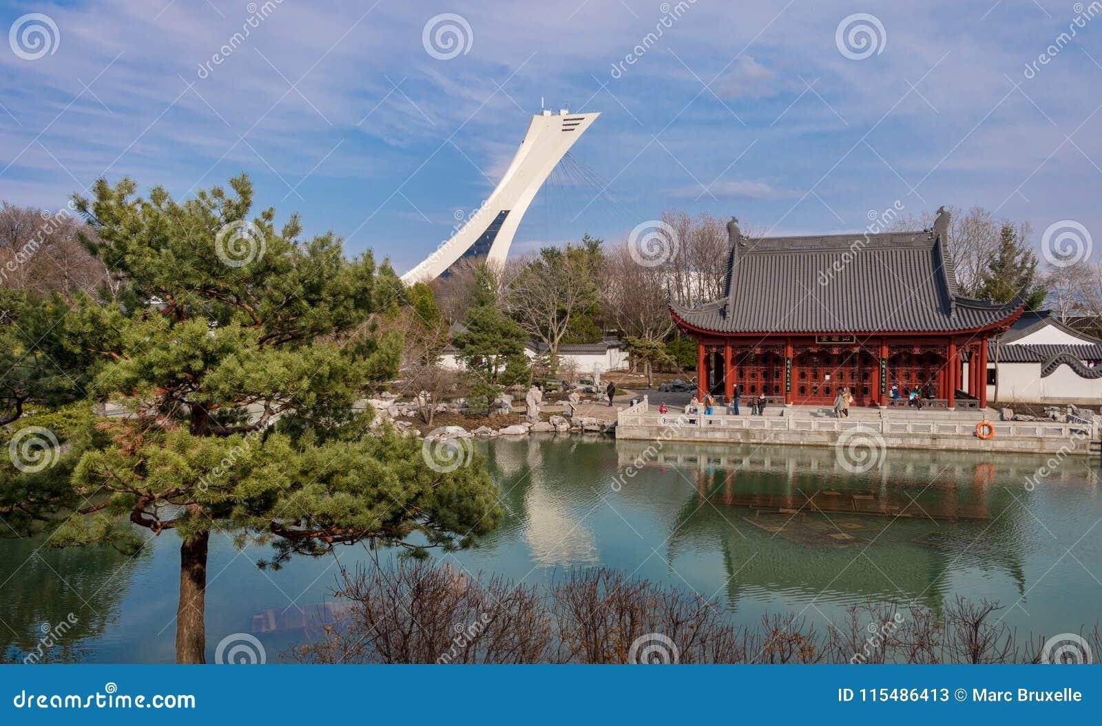 Chinese Tuin van de Botanische Tuin van Montreal