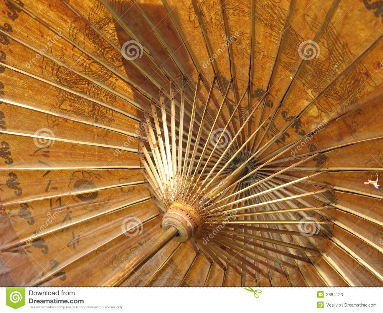 Chinese Umbrella Stock Photos Image 3884123
