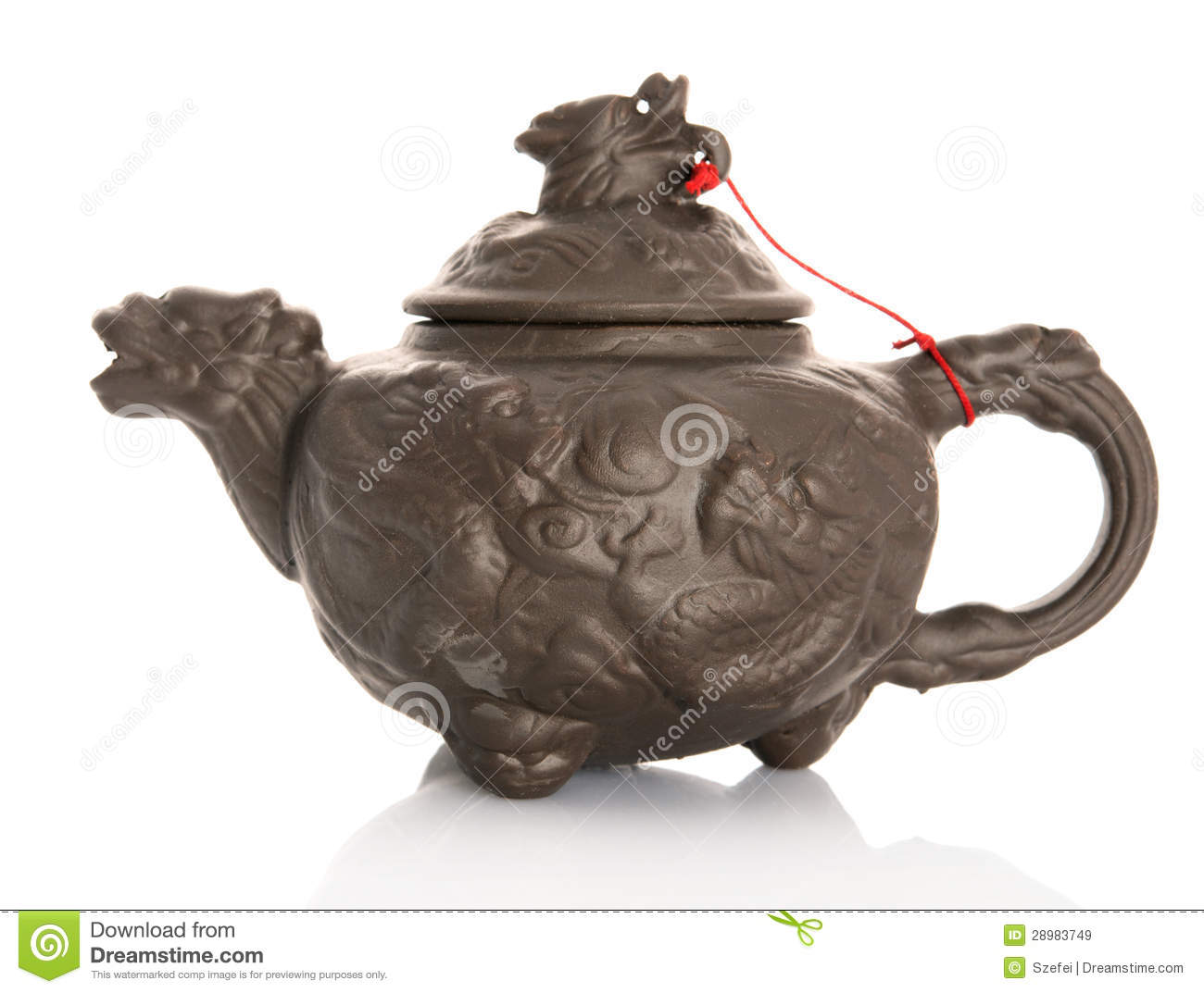 Chinese Vintage Teapot Royalty Free Stock Images Image