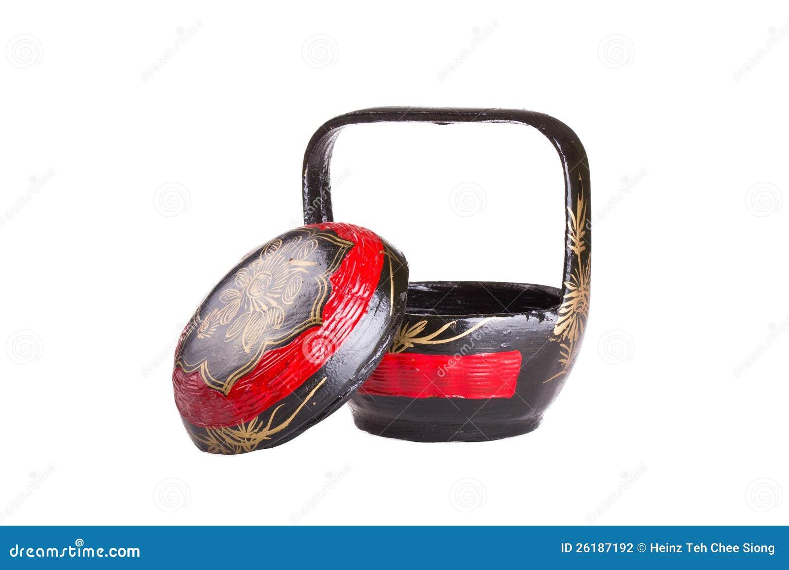 Chinese wedding gift basket stock photography image 26187192
