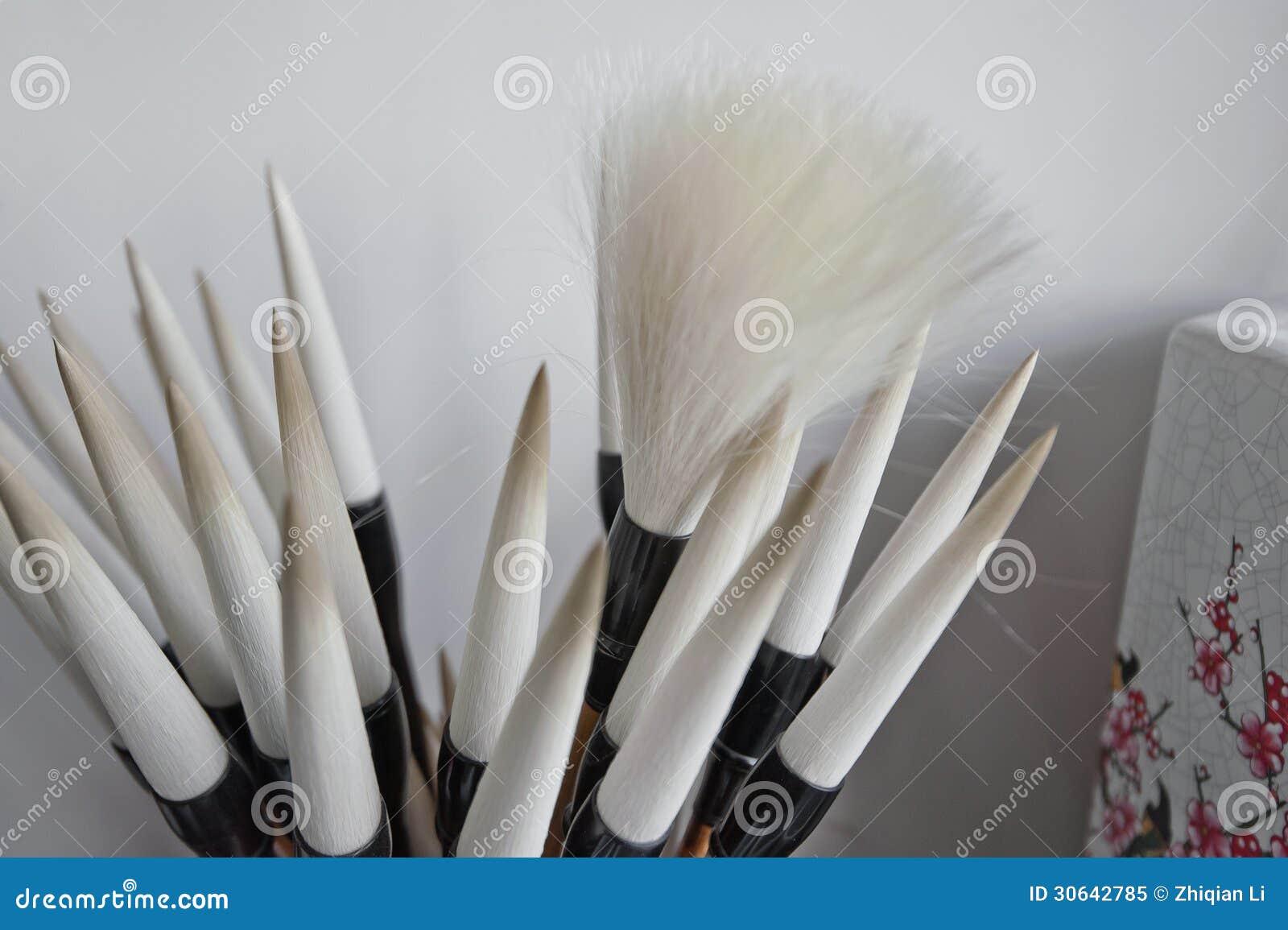 Chinese writing brushes