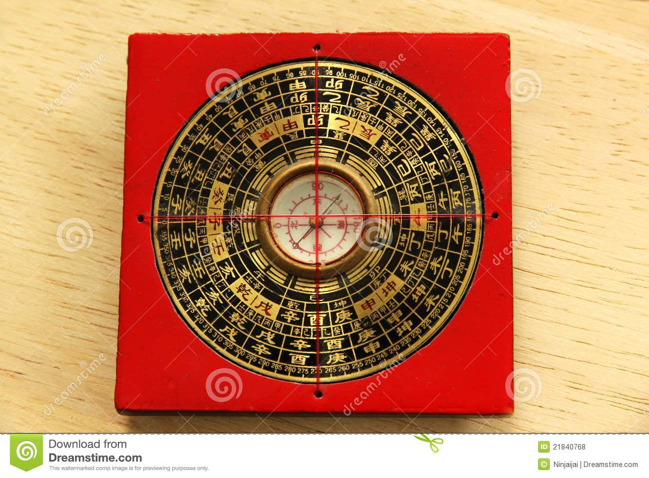 Chinese Yin Yang Compass Royalty Free Stock Photos - Image ...